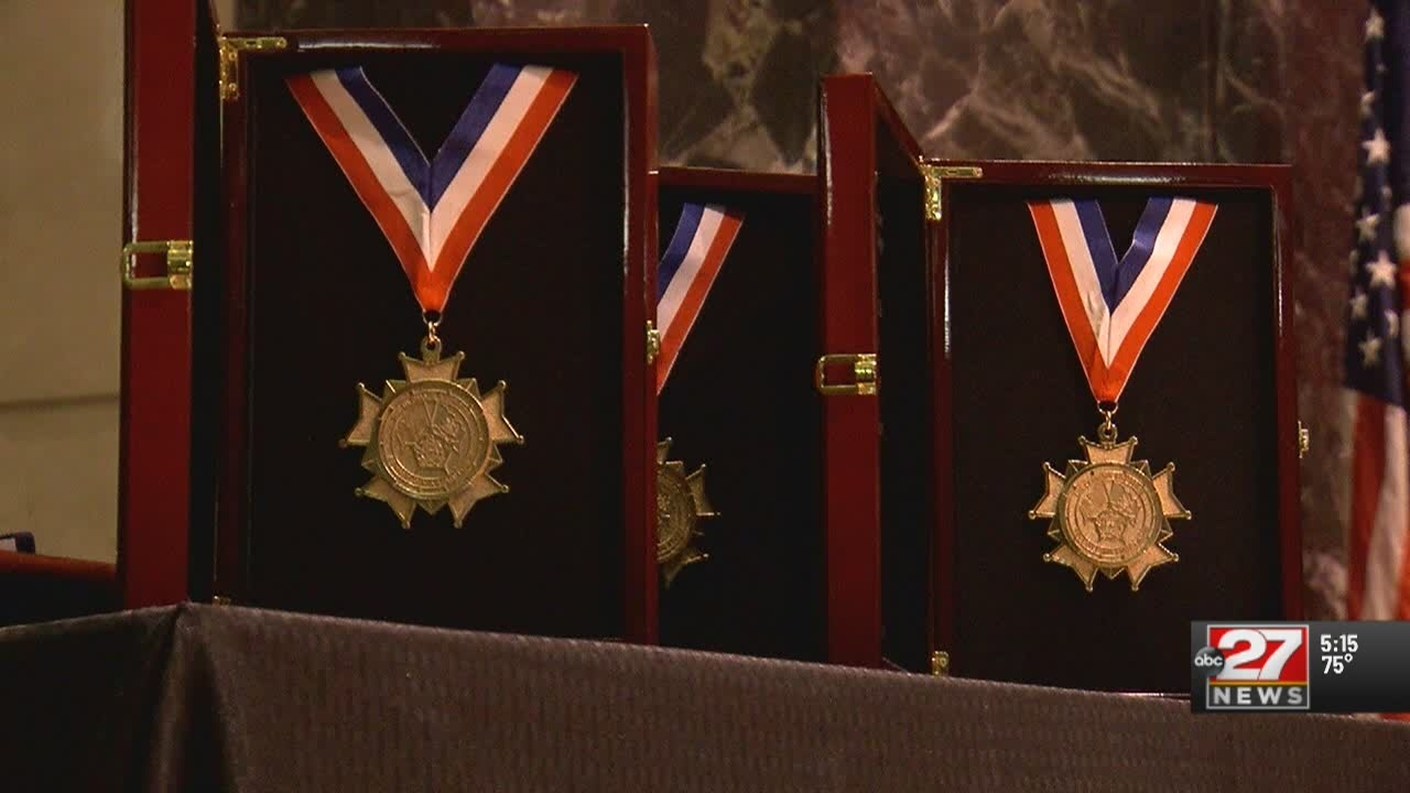 Police honor 4 who died on duty last year