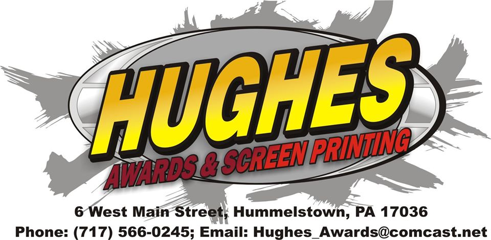Hughes Awards & Screen Printing logo
