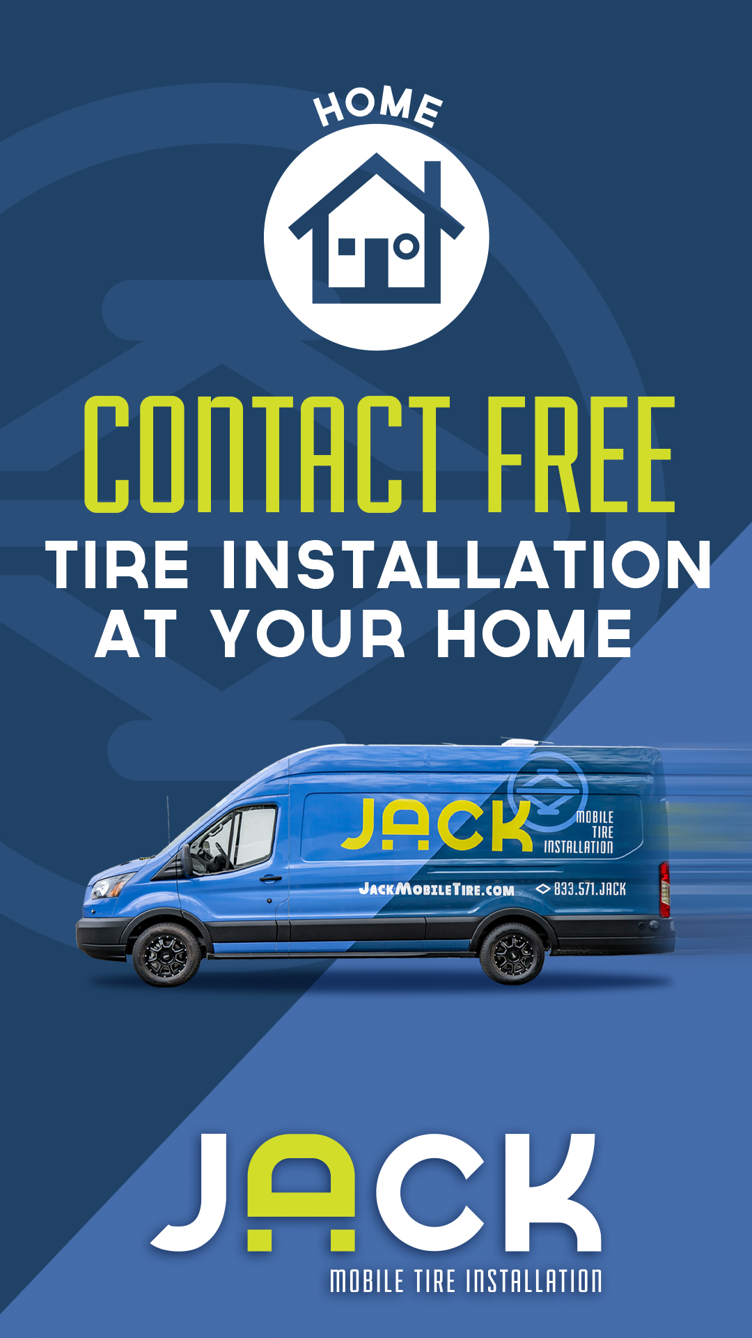 Jack Mobile Tire Installation Instagram Story