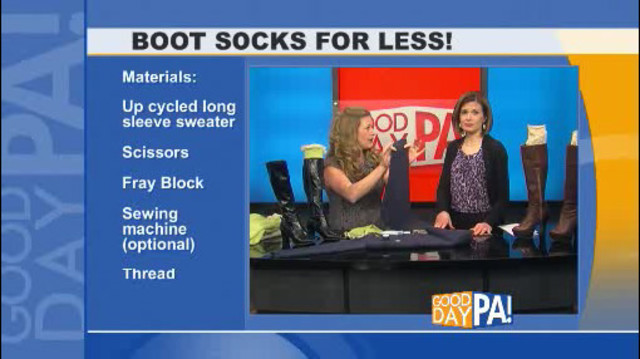 Thrifty Thursday: Boot Socks!