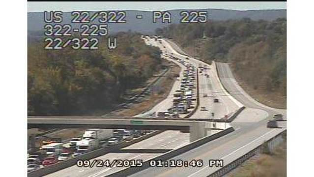 Route 22/322 reopens after fatal crash near Dauphin
