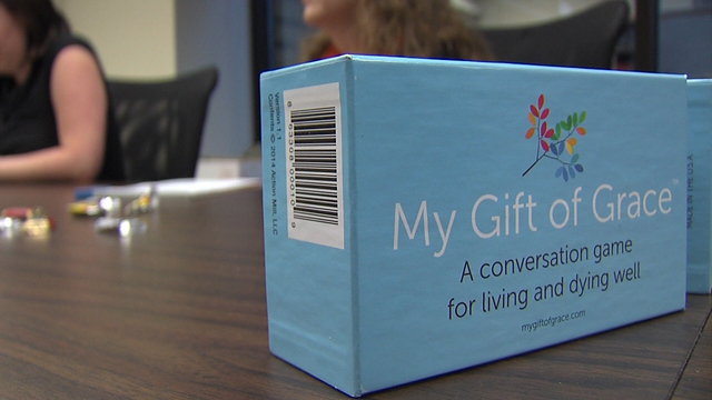 Conversation game at Penn State Hershey Medical Center helps address tough questions