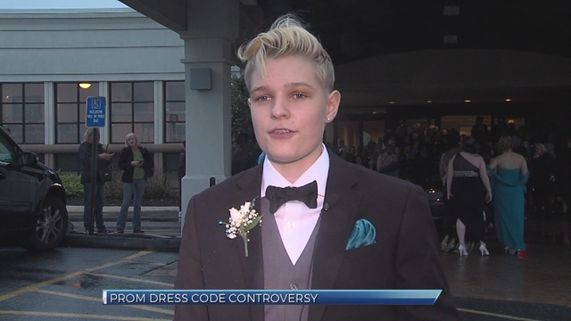 Bishop McDevitt girl thrown out of prom for wearing a suit