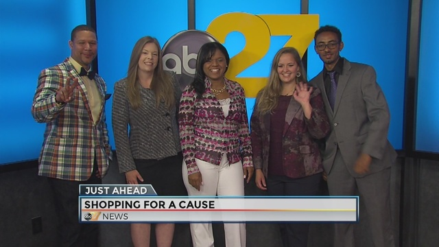 Designer clothing sale helps support non-profit