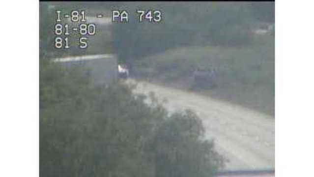 Traffic UPDATE: I-81 in Dauphin Co  open after crash