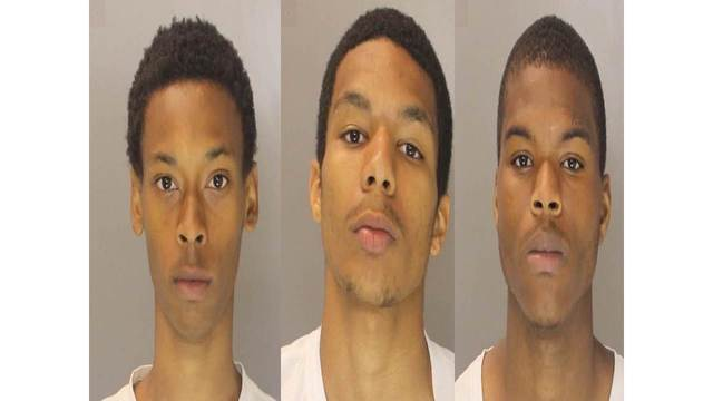 Trio accused of robbing pizza delivery driver