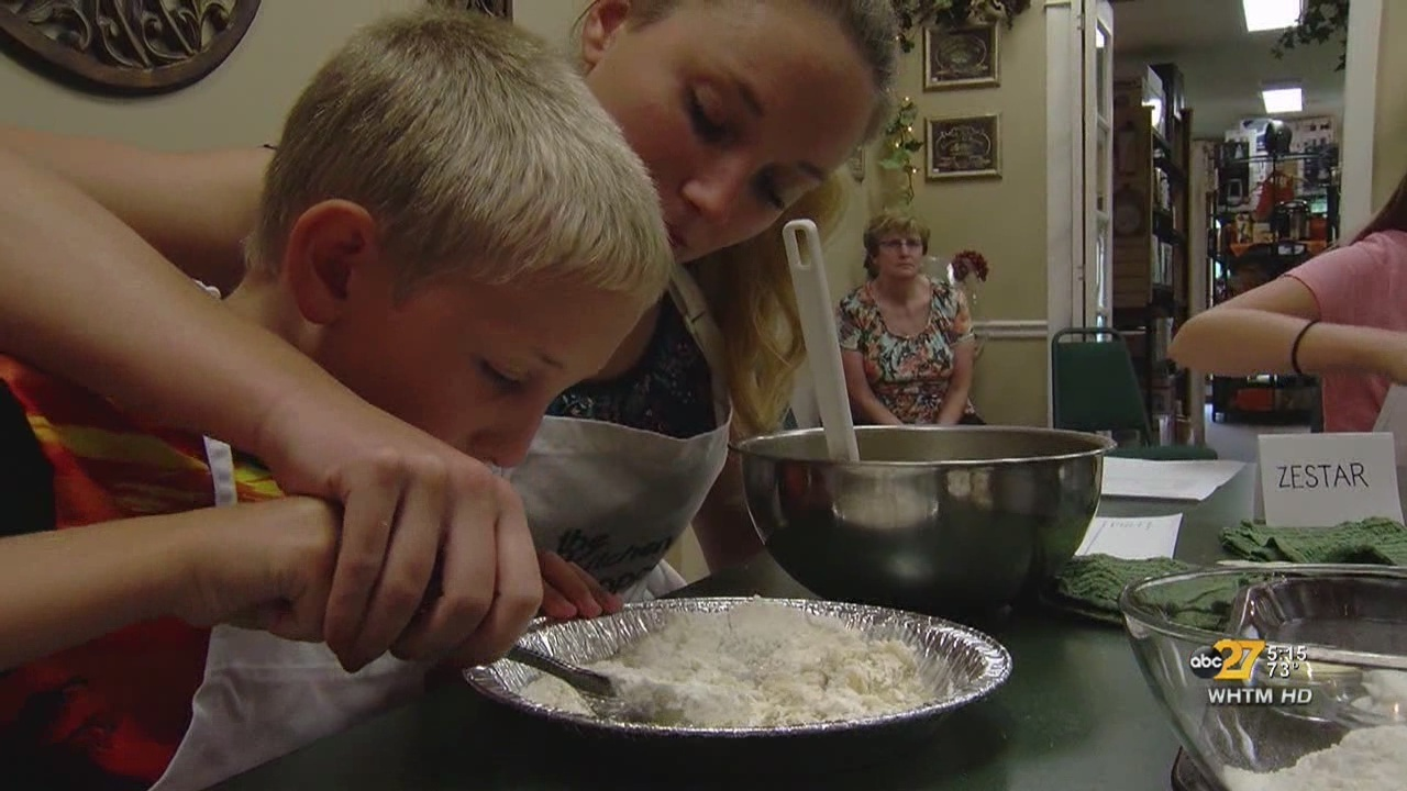 Cooking class teaches kids a valuable life skill