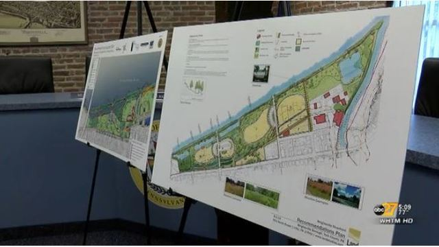 $1.9 million in renovations underway at 11-acre park along Susquehanna River