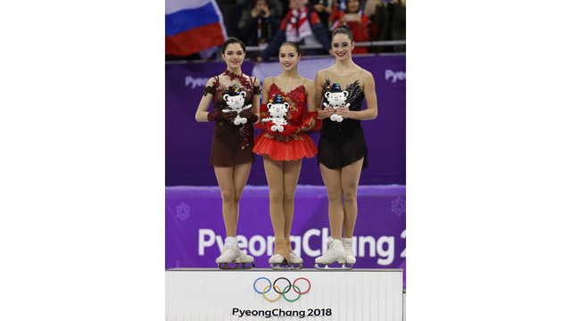 A look at figure skating winners and how they earned medals