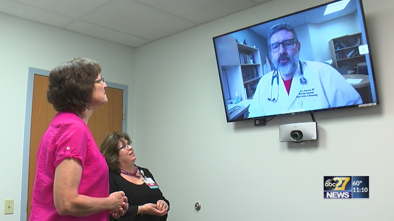 Doctor via video? Midstate hospital adds new option for neurology