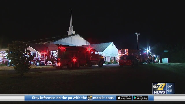 Cause of Perry County church fire undetermined, investigation ongoing