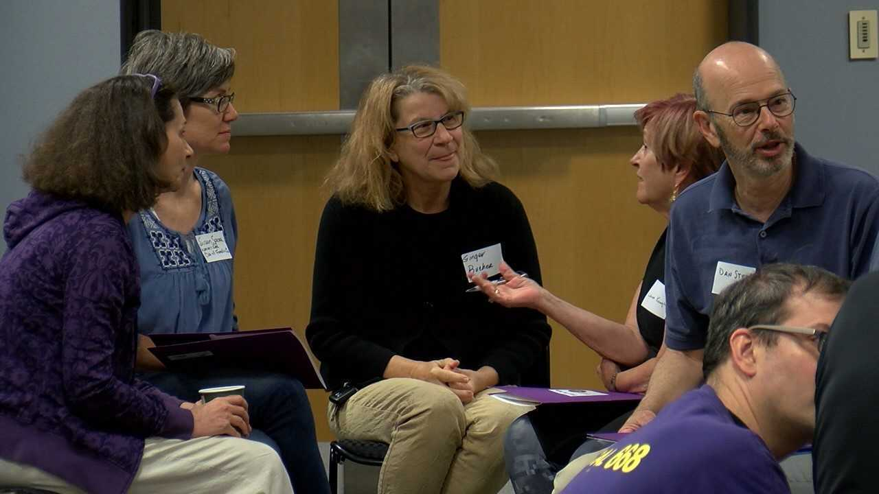 Midstate residents learn how to get involved in the midterm elections, talk politics