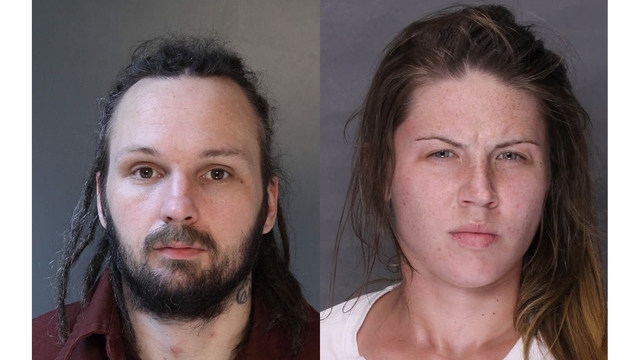 Pair charged in 2nd bank robbery