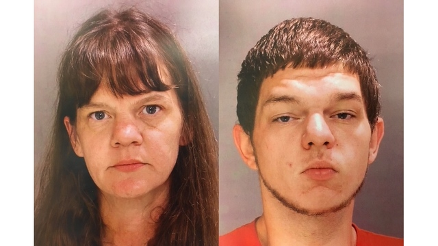 Mother, son charged in church burglary