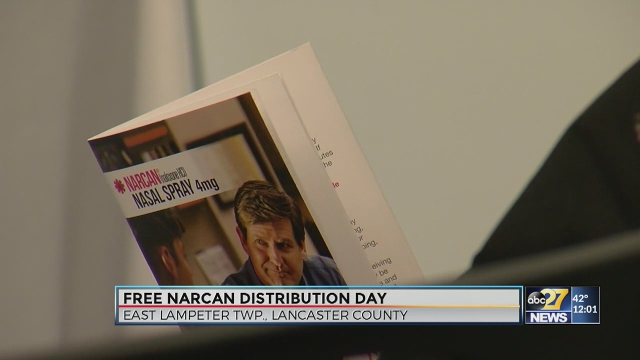 Free Narcan Kits Distributed In Pa Thursday