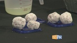 Erupting snowball experiment from Whitaker Center