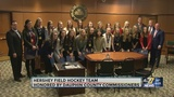 Hershey Field Hockey team honored by Dauphin County Commissioners