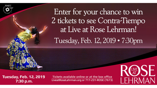 Contra-Tiempo Live at Rose Lehrman Sweepstakes