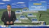 Frigid conditions today with sub-zero wind chills