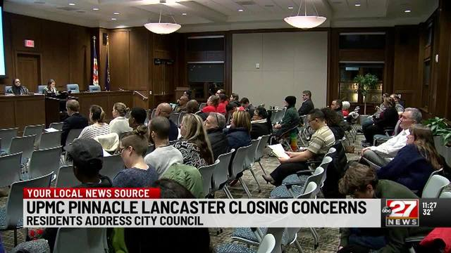 Residents express concerns over pending closure of UPMC Pinnacle