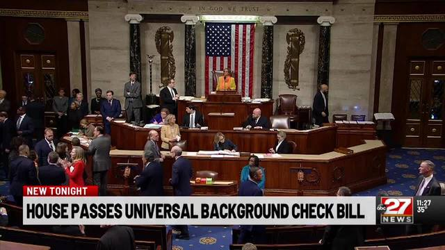 House approves bill to expand gun-sale background checks