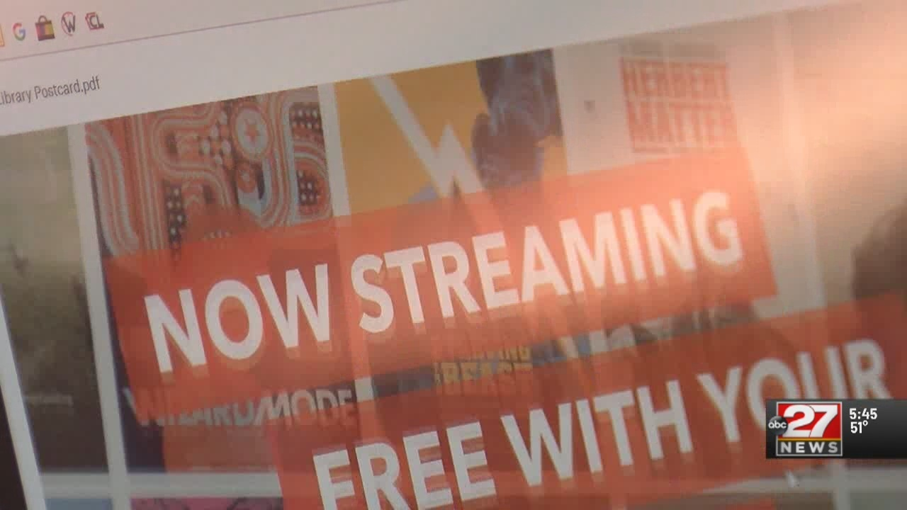 Cumberland County libraries offering free streaming service
