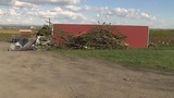 Wind rips apart barn, dozens of trees at Andrews Farm in Franklin County